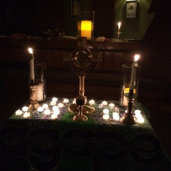 We offer a special time of Adoration on our retreats.
