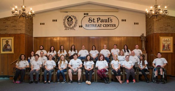 Our spring retreat takes place at Saint Paul of the Cross retreat center in Detroit, MI. It's a wonderful time to connect with other young adults and to grow deeper in your faith.